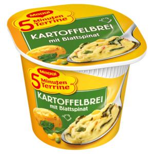 Maggi 5 Minuten Terrine Kartoffelbrei mit Blattspinat 47g