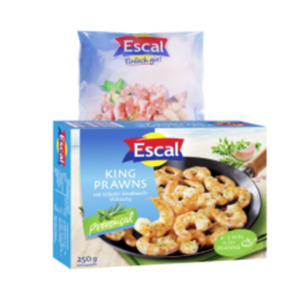 Escal King Prawns Natur oder Provencal