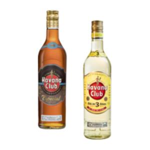 Havana Club Añejo 3 Años, Añejo Especial, Lillet Blanc oder Rose