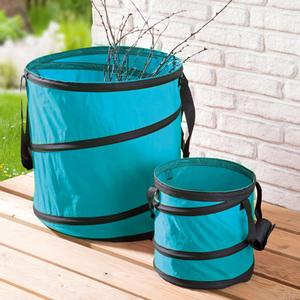 Multifunktionstonne für den Garten Laubsack Laub Gartenabfälle Tonne 160 Liter