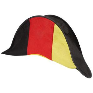 Fanartikel Napoleonhut (schwarz-rot-gold)