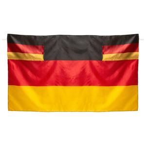 Fanartikel Flaggenumhang (schwarz-rot-gold)