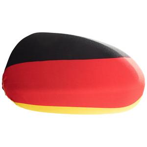 Fanartikel Spiegelflagge (2er-Set, schwarz-rot-gold)