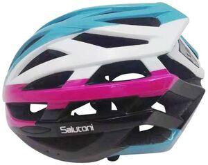 Fahrradhelm - Erwachsene - rosa/blau