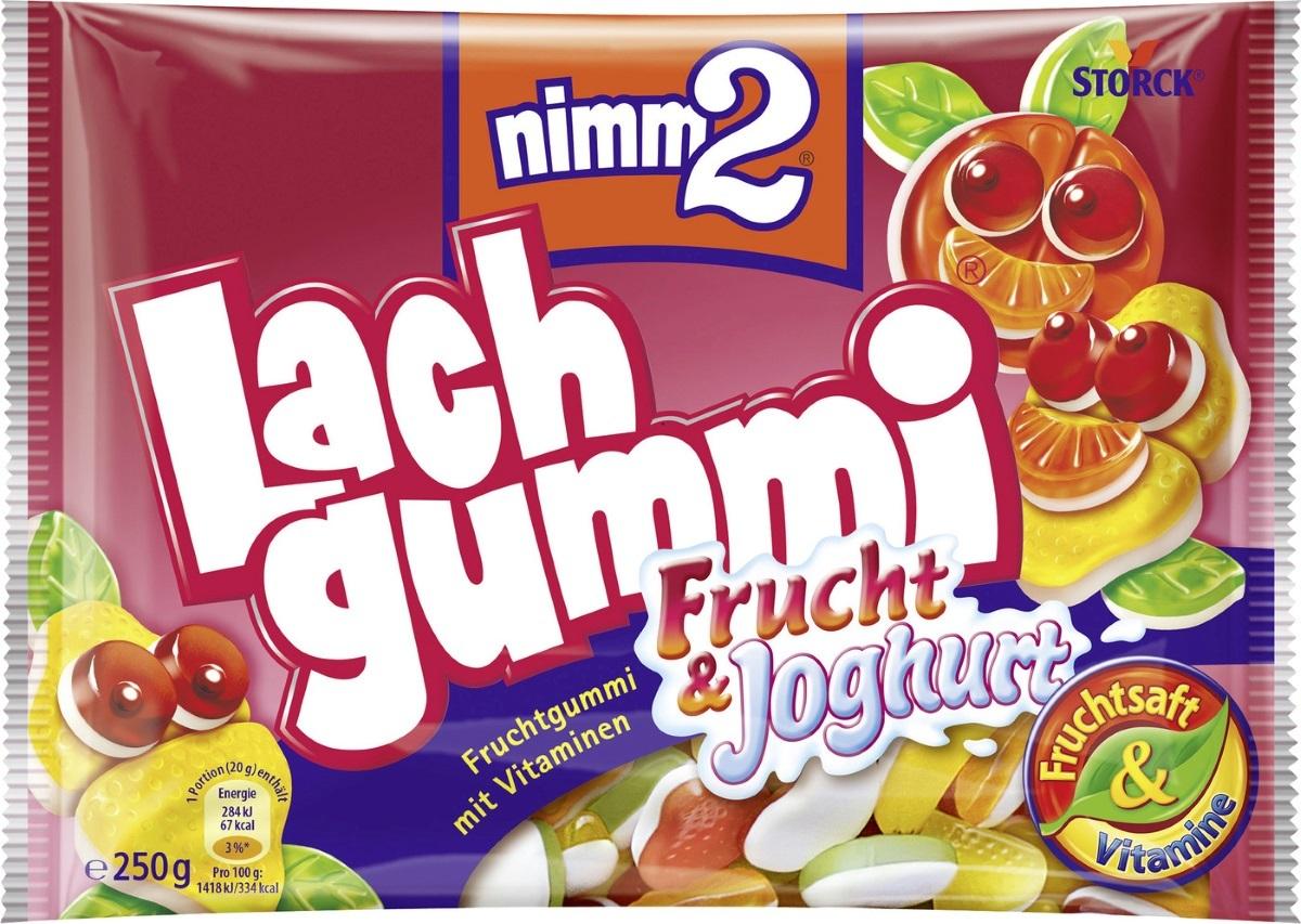 Bild 2 von nimm2 Lachgummi Frucht und Joghurt 250 g