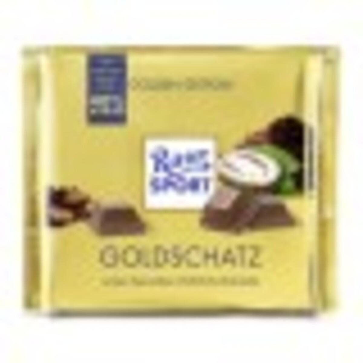 Bild 1 von Ritter Sport Goldschatz 250 g
