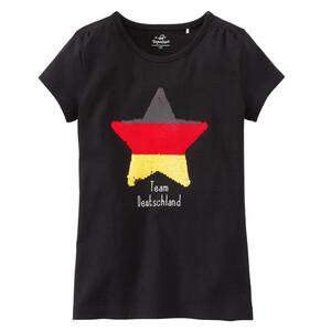Mädchen T-Shirt im Deutschland-Dessin