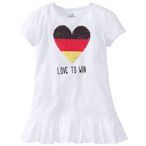 Mädchen T-Shirt mit EM-Dessin