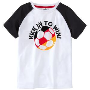 Jungen T-Shirt im EM-Dessin