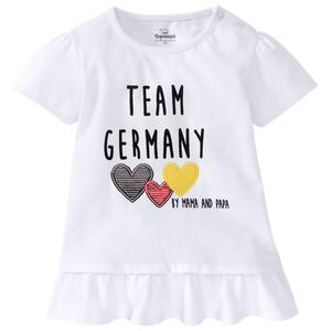 Baby T-Shirt im Deutschland-Dessin
