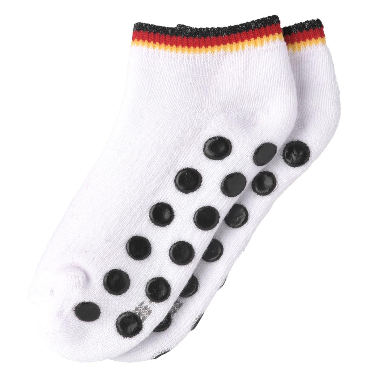 Bild 4 von 3 Baby Sneaker-Socken in Deutschlandfarben