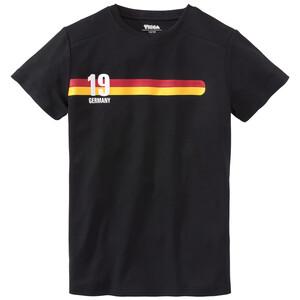 Jungen T-Shirt im Trikot-Dessin