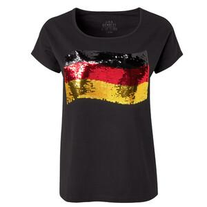 Damen T-Shirt im Deutschland-Dessin