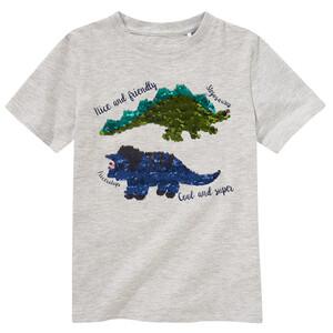 Jungen T-Shirt mit Wendepailletten