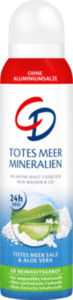CD Deo Spray Deodorant Totes Meer Mineralien