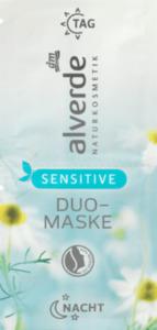 alverde NATURKOSMETIK Sensitive Duo-Maske