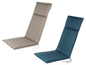 FLORABEST Polsterauflage, für Hochlehner, verstellbares Rückenband, aus reiner Baumwolle