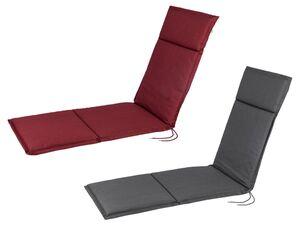 FLORABEST Polsterauflage, für Relaxsessel, verstellbares Rückenband, aus reiner Baumwolle