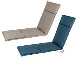FLORABEST Polsterauflage, für Relaxsessel, mit Stehsaum, verstellbares Rückenband