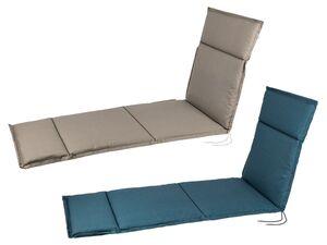 FLORABEST Polsterauflage, für Liege, verstellbares Rückenband, aus reiner Baumwolle