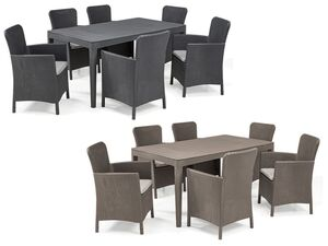 Allibert Dining Set Girona-Miami