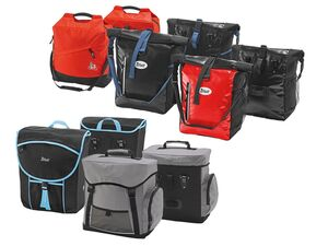 CRIVIT® 2 Fahrrad-Gepäcktaschen