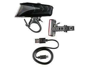 CRIVIT® Fahrradleuchtenset mit LED-Rücklicht