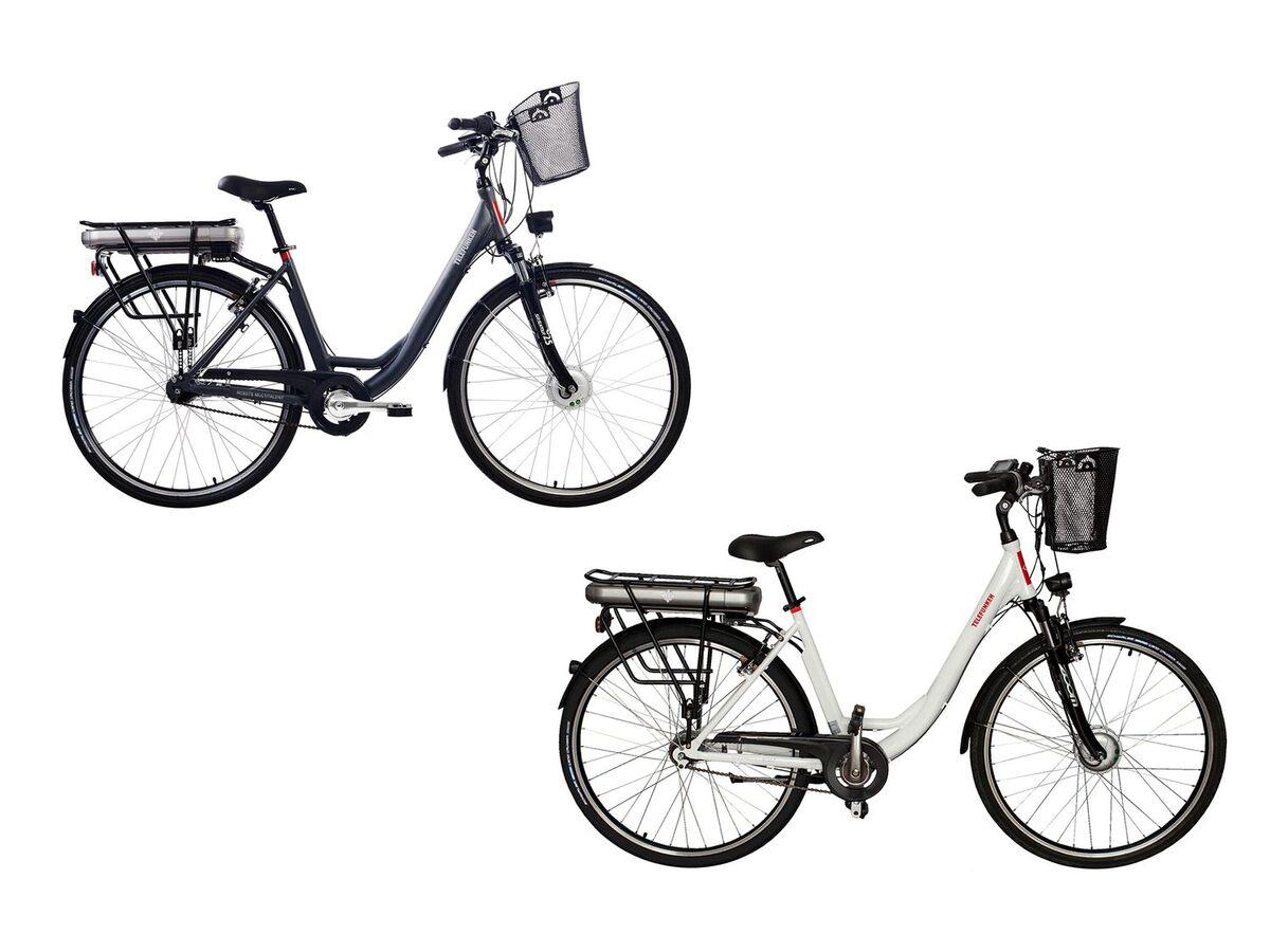 Bild 1 von TELEFUNKEN E-Bike »Multitalent RC657-S«, Pedelec, Citybike, 28 Zoll, 100 km Reichweite