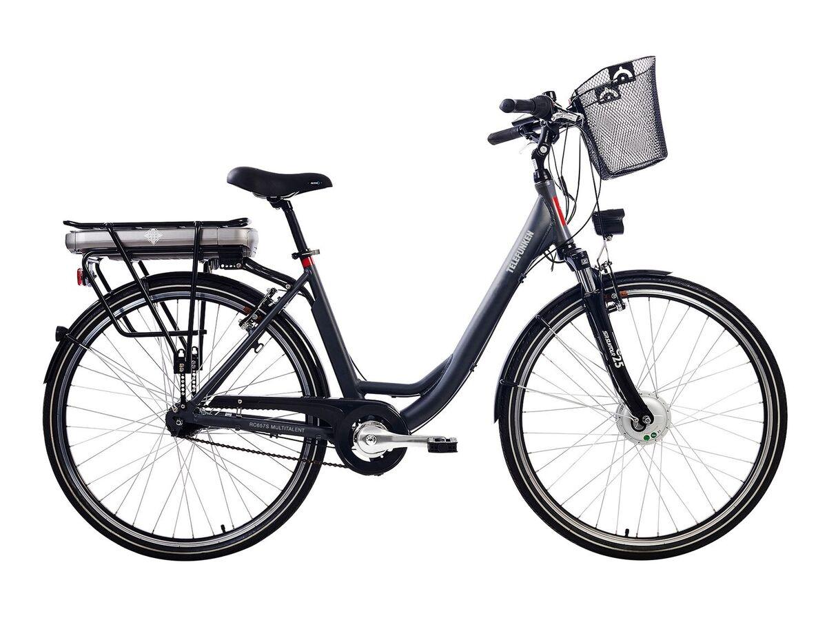 Bild 2 von TELEFUNKEN E-Bike »Multitalent RC657-S«, Pedelec, Citybike, 28 Zoll, 100 km Reichweite