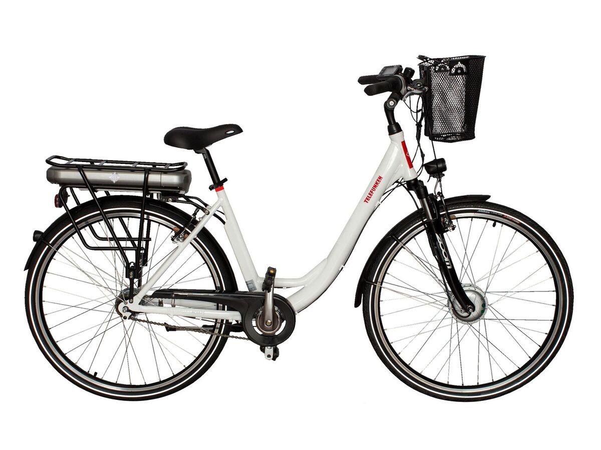 Bild 5 von TELEFUNKEN E-Bike »Multitalent RC657-S«, Pedelec, Citybike, 28 Zoll, 100 km Reichweite
