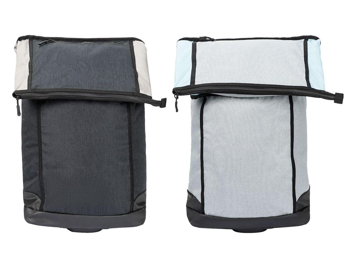 Bild 1 von CRIVIT® 2-in-1-Fahrradtasche, 35 l, Trolley mit 2 leichtlaufenden Rollen, 2 Haltehaken,