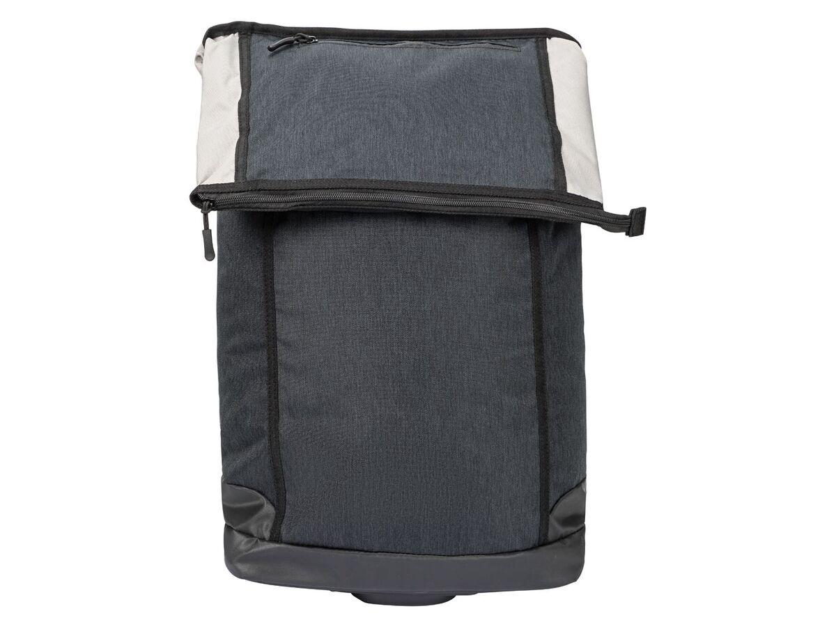 Bild 2 von CRIVIT® 2-in-1-Fahrradtasche, 35 l, Trolley mit 2 leichtlaufenden Rollen, 2 Haltehaken,