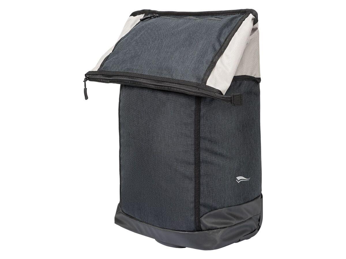 Bild 3 von CRIVIT® 2-in-1-Fahrradtasche, 35 l, Trolley mit 2 leichtlaufenden Rollen, 2 Haltehaken,