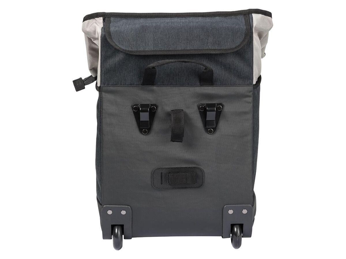 Bild 5 von CRIVIT® 2-in-1-Fahrradtasche, 35 l, Trolley mit 2 leichtlaufenden Rollen, 2 Haltehaken,