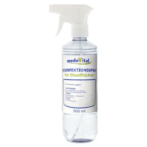 Desinfektionsspray für Oberflächen, 500 ml
