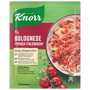 Knorr Fix Bolognese Typisch Italienisch!