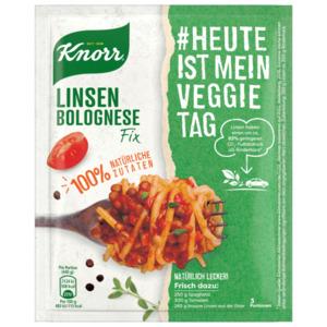 Knorr Fix Linsen Bolognese