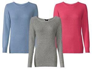 ESMARA® Pullover Damen, mit ressourcenschonender Viskose