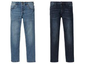 LIVERGY® Jeans Herren, Straight Fit, im 5-Pocket-Style, mit Baumwolle und Elasthan