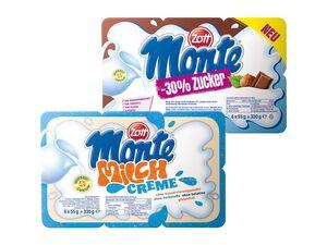 Zott Monte Milchcreme/ zuckerreduziert