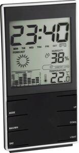 TFA Dostmann Komfort 35.1102.01 Funk-Wetterstation Vorhersage für 12 bis 24 Stunden