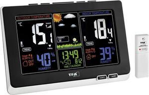 TFA Dostmann Spring 35.1129.01 Funk-Wetterstation Vorhersage für 12 bis 24 Stunden