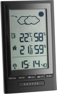 TFA Dostmann Modus Plus 351122 Funk-Wetterstation Vorhersage für 12 bis 24 Stunden