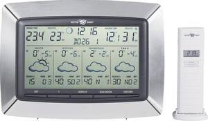 TFA Dostmann Tempus 35.5046.IT Satelliten Wetterstation Vorhersage für 4 Tage