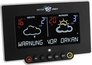 TFA Dostmann NEON 300 35.5054 Satelliten Wetterstation Vorhersage für 2 Tage