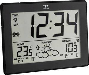 TFA Dostmann 35-1125-01-IT Funk-Wetterstation Vorhersage für 12 bis 24 Stunden