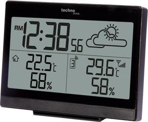 Techno Line Funk-Wetterstation WS 9252 Schwarz