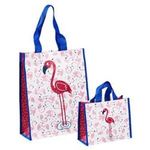 Taschenset Flamingo, 2-teilig