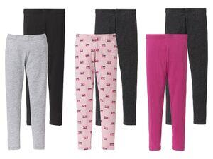 PEPPERTS® Leggings Mädchen, 2 Stück, mit Baumwolle
