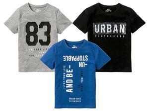PEPPERTS® Pailletten T-Shirt Jungen, mit Print, mit Baumwolle